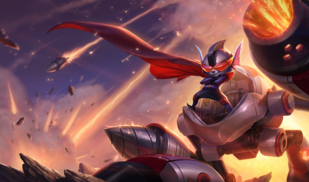 """Riot got heavily criticized for turning Rumble into a champion that depends on """"Luck"""" 5"""