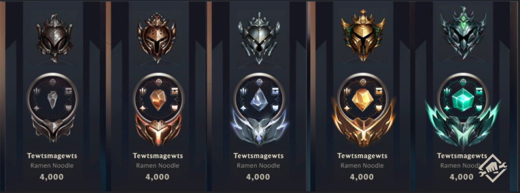 """Riot on """"Progression identity"""" by the end of this year: Lobby update, new titles, new contents, and many more 3"""