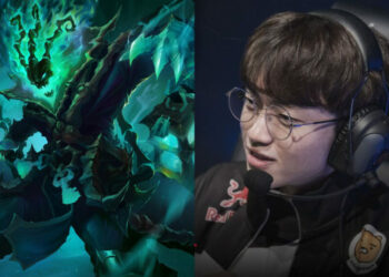 T1 Keria's Thresh hard carried against DWG with this unexpected build. 1