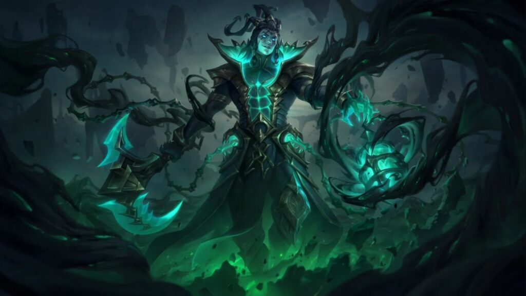 New Sentinel, Ruined, Unbound skins' splash art and animation revealed for patch 11.14 5