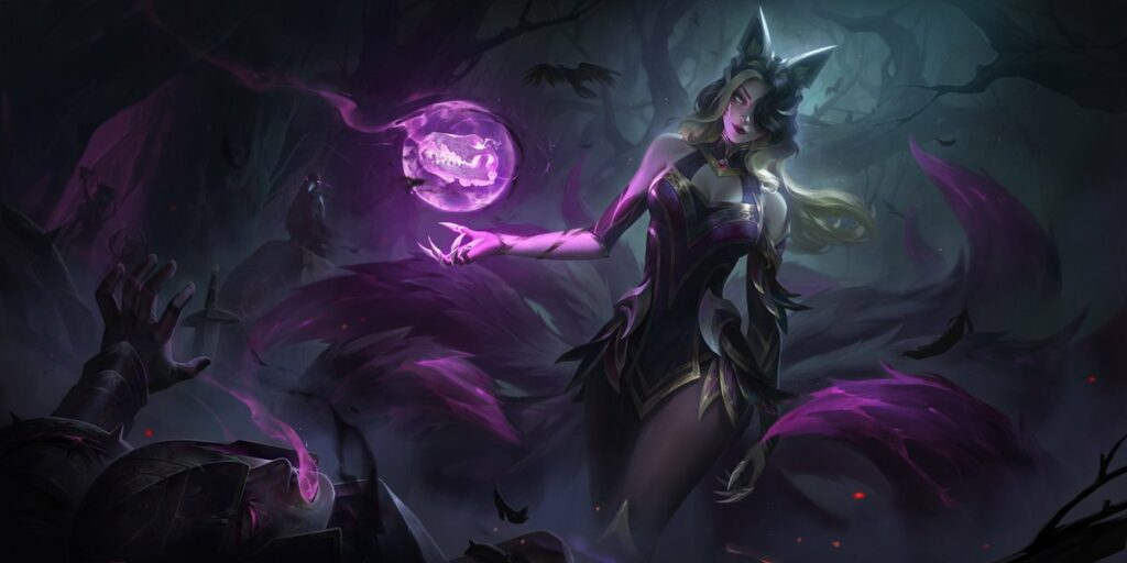 New Coven skins for Ahri, Evelynn and more, along with new Prestige Coven Leblanc 1