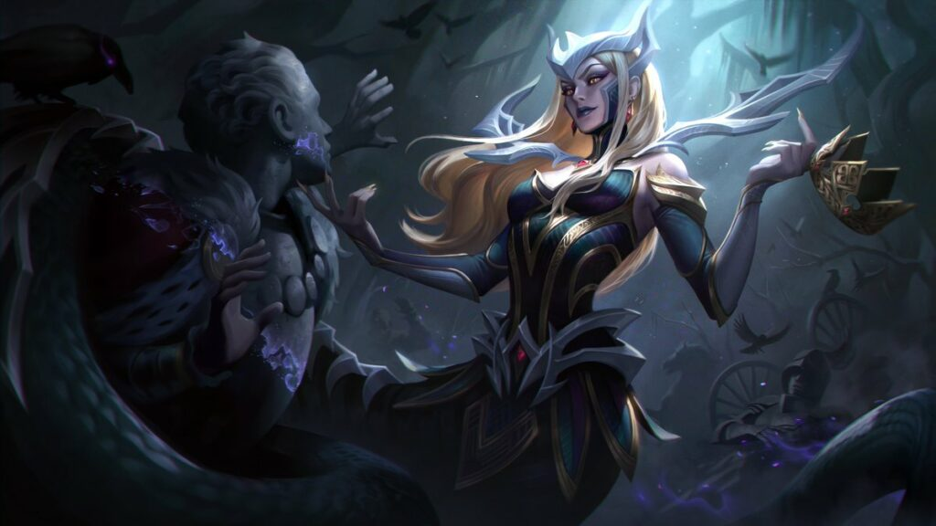 New Coven skins for Ahri, Evelynn and more, along with new Prestige Coven Leblanc 3