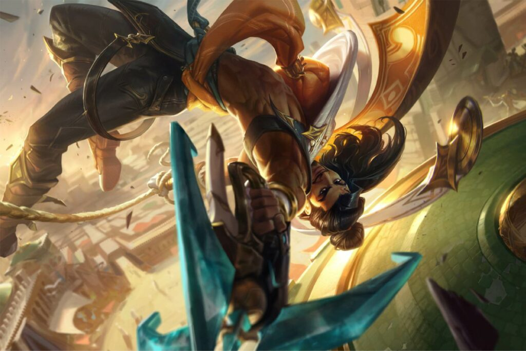 Akshan receives his second buff in League micropatch 11.15 2