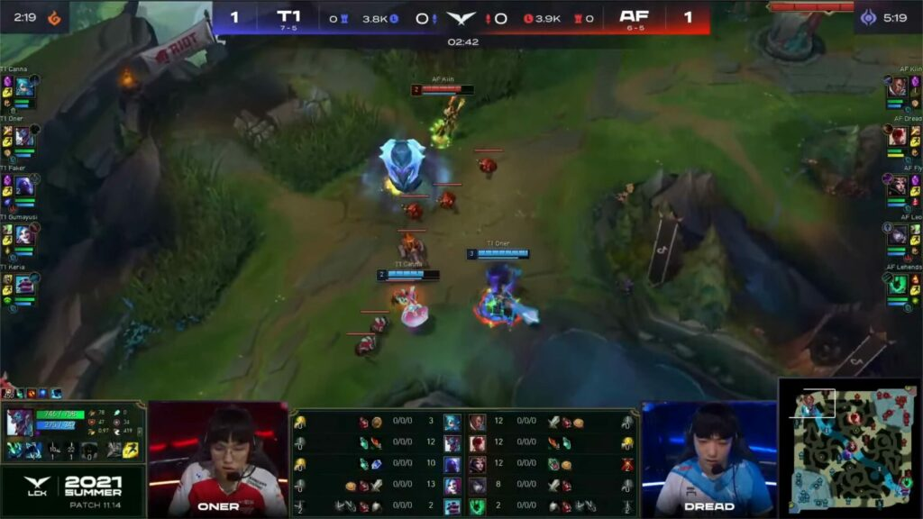 Trundle has finally returned back in the LCK 1
