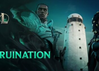 The two statues of beauty in LoL are about to join Ruination 4