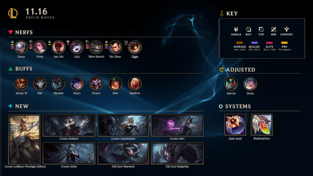 League Patch 11.16: new Sona incoming 1