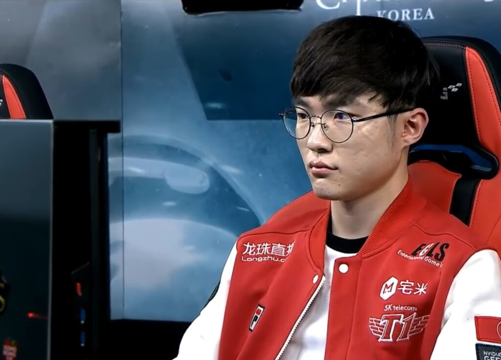 Faker's thought on having new solutions for win-trading and gambling in the game 1