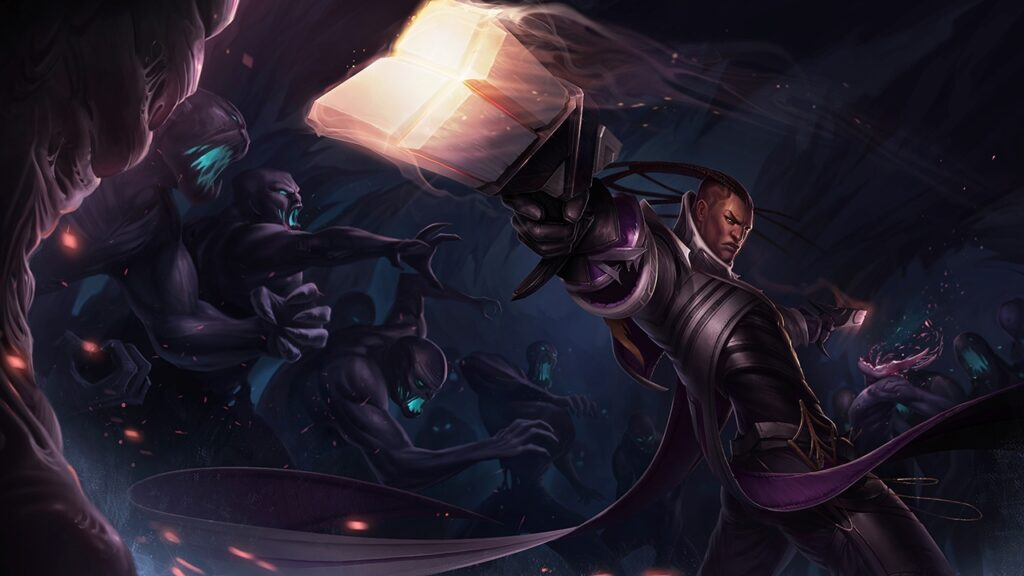 Big changes coming for Lucian in patch 11.17 that will put him back into Bot lane 2