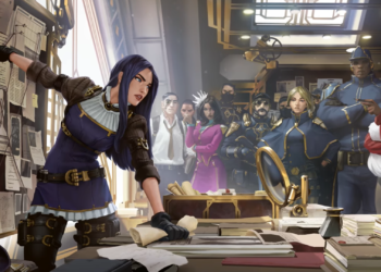 Caitlyn fans are demanding an in-game model and splash art update after seeing her awesome new art in LoR 1