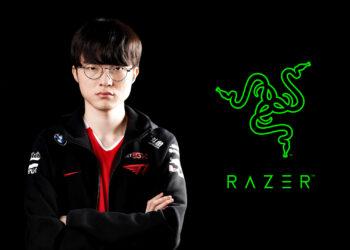Faker collaboration with Razer