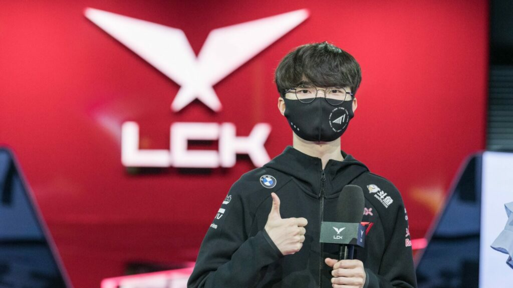 Faker didn't hesitate but to predict the LCK Finals score will be 3-0 in front of kkOma 1