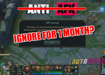 Despite previous announcements, Riot ignored an account continuingly AFK for one month 3