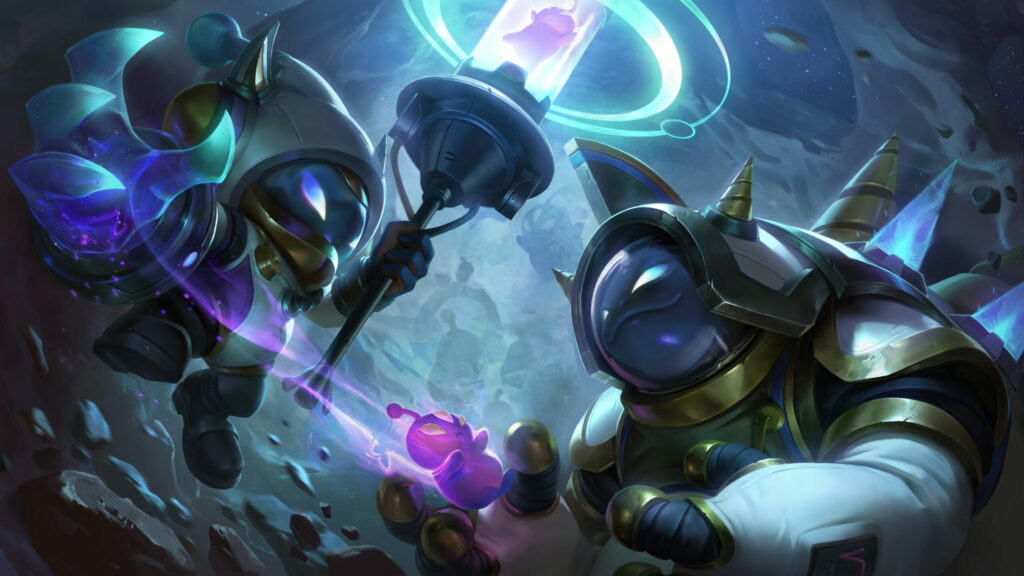 Players discovered that Astronaut Veigar's stun lasts longer than usual 1