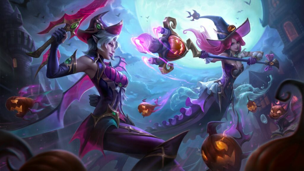 New Bewitching skins and Prestige Morgana coming to League of Legends 2
