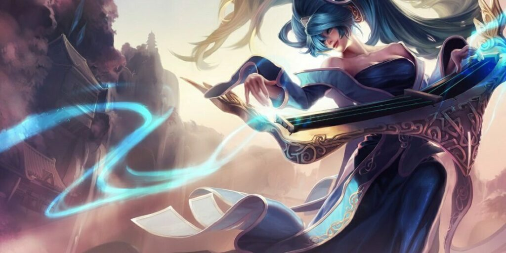New Sona Bug that allows her to slow down CC-immune champions 2