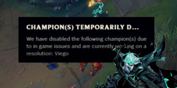 New bug got Viego disabled