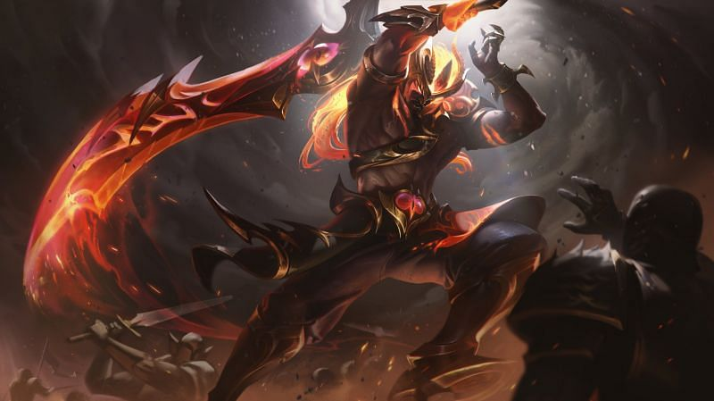 """Players concern that the new Nightbringer Tryndamere skin will be a """"pay-to-lose"""" skin 3"""