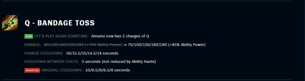 Amumu become the best Support pick in League Patch 11.18 3