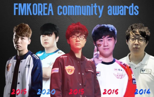 Top strongest lineup team voted by Korean League community: Faker is set in 4 out of 5 teams 1