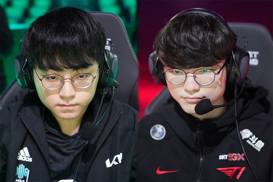 """Faker: """"LCK's mid lane talent pool at Worlds this year is the strongest."""" 4"""