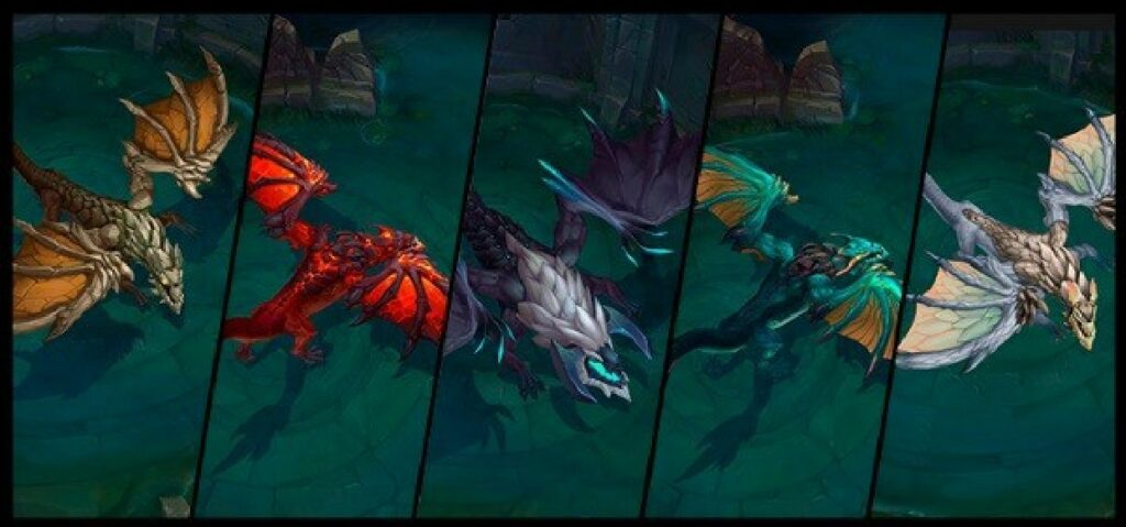 Preseason 2022: Riot is adding 2 new Dragons into the game, Hextech and Chemtech Dragon 1
