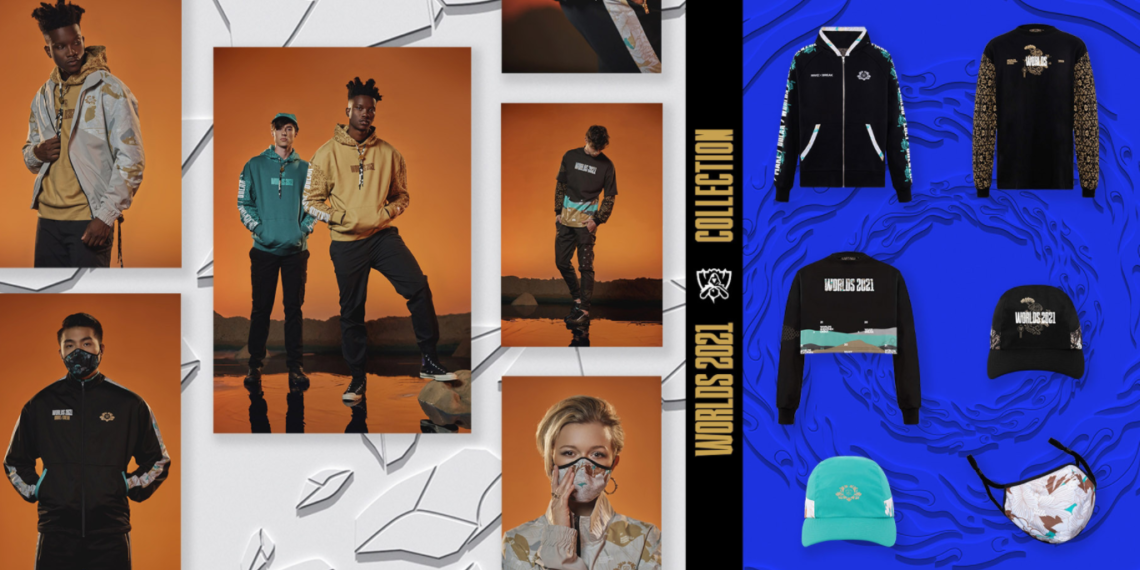 Riot has released a new 2021 Worlds fashion collection, with proceeds going to COVID relief 1