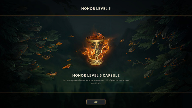 League of Legends: Player came up with an idea to reduce toxicity by using Honor 5 rewards mechanism 4